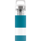SIGG Thermo Flask Hot & Cold Glass Aqua