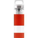 SIGG Thermo Flask Hot & Cold Glass Red