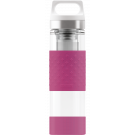 SIGG Thermo Flask Hot & Cold Glass Berry