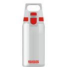 Water Bottle Total Clear ONE Red 0.5l